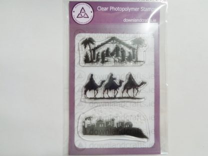 Nativity Silhouettes A6 Clear Photopolymer Stamp Set