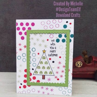 Oh Christmas Tree Stamp Set Card Sample