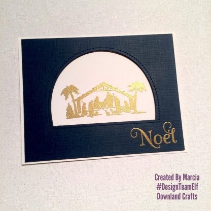 Nativity Silhouettes Stamp Set Card Sample 7