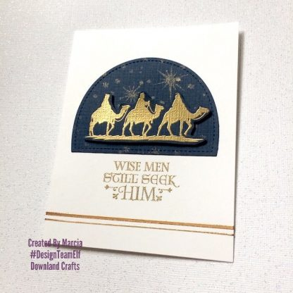 Nativity Silhouettes Stamp Set Card Sample 8