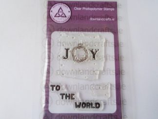 Joy To The World A7 Clear Photopolymer Stamp Set