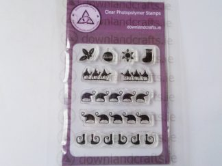 Festive Elements A7 Clear Photopolymer Stamp Set