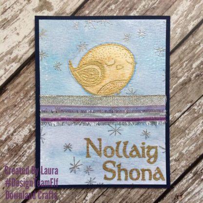 Winter Snooze Stamp Set Card Sample