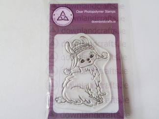 Sitting Pretty A7 Clear Photopolymer Stamp