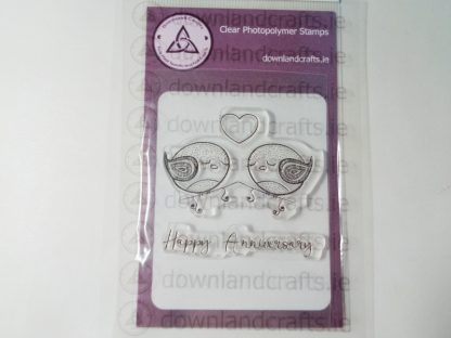 Love Birds A7 Clear Photopolymer Stamp Set