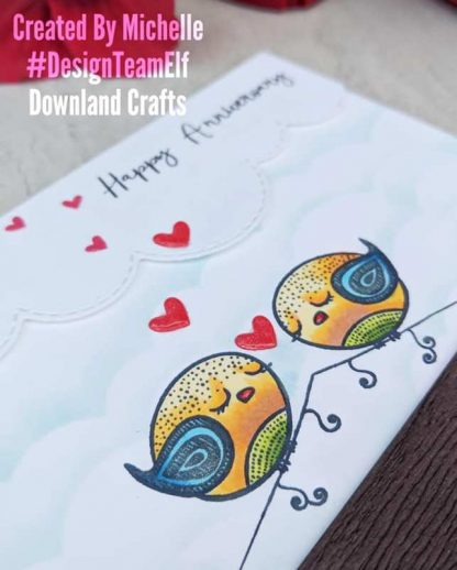 Love Birds Card Sample 2