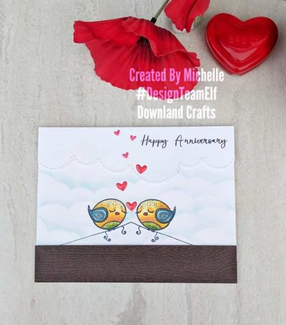 Love Birds Card Sample