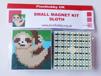 Sloth Pixelhobby Small Magnet Kit