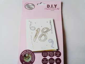 18th Birthday DIY Crystal Card Kit