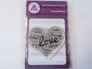 Forever Heart A7 Clear Photopolymer Stamp