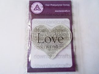 Adore Heart A7 Clear Photopolymer Stamp
