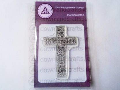 Confirmation Cross A7 Clear Photopolymer Stamp