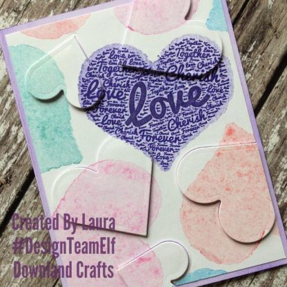 Forever Heart Card Sample