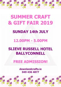 Summer Craft and Gift Fair 2019