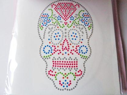 AV. Skull DIY Crystal Card Kit