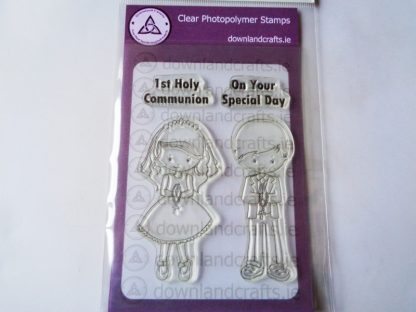 Communion Standing A6 Clear Photopolymer Stamp Set