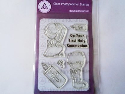 Communion Kneeling A6 Clear Photopolymer Stamp Set