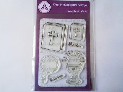 God Bless A6 Clear Photopolymer Stamp Set