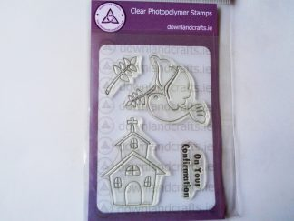 Confirmation A6 Clear Photopolymer Stamp Set