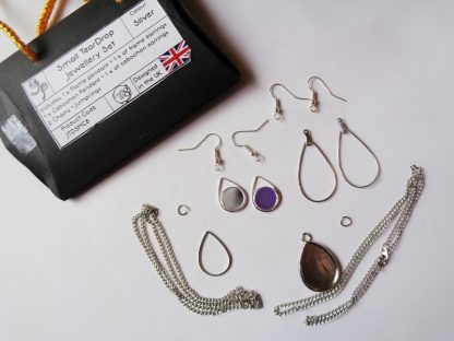 Small Teardrop Set Jewellery Kit