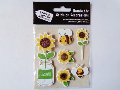Bees and Sunflowers Topper Pack