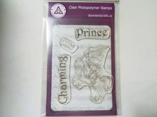 Prince Charming A6 Clear Photopolymer Stamp Set