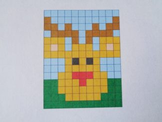 Downland Crafts Rudolph Friday Freebie Pixelhobby Pattern