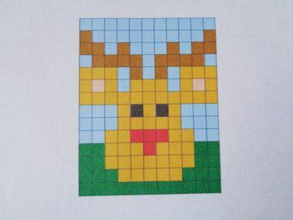 Downland Crafts Rudolph Friday Freebie Pixelhobby Pattern