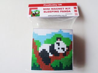 Sleeping Panda Pixelhobby Mini Magnet Kit