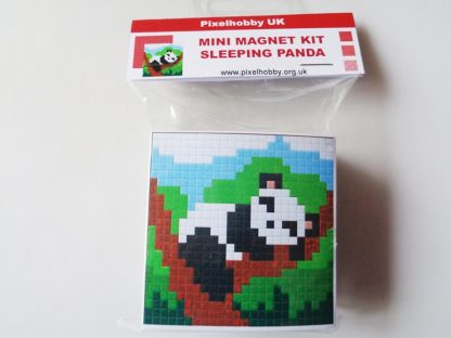 Sleeping Panda Pixelhobby Mini Magnet Kit