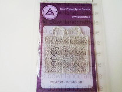 Birthday Gift Stamp A7 Clear Photopolymer