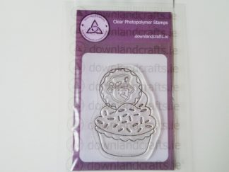 Snowman Cupcake Stamp A7 Clear Photopolymer