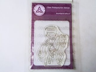 Medieval Prince A7 Clear Photopolymer Stamp