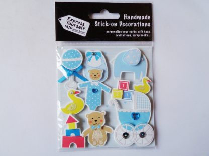Baby Boy Icons Topper Pack