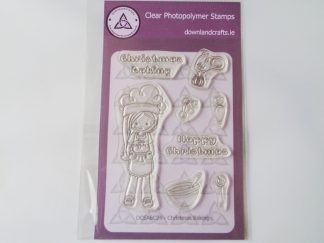 Christmas Baking Stamp Set A6 Clear Photopolymer