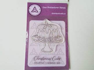 Christmas Cake Stamp Set A7 Clear Photopolymer