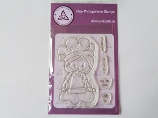 Roll With It Stamp Set A7 Clear Photopolymer