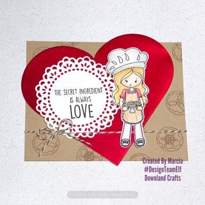 Christmas Cookies Stamp Set Card Sample