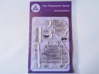 Showtime A6 Clear Photopolymer Stamp Set