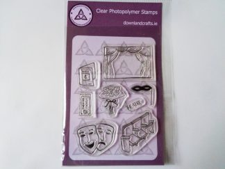 Theatre A6 Clear Photopolymer Stamp Set