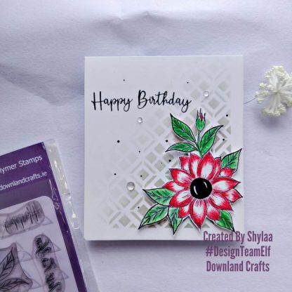 Just For You Stamp Set Card S ample