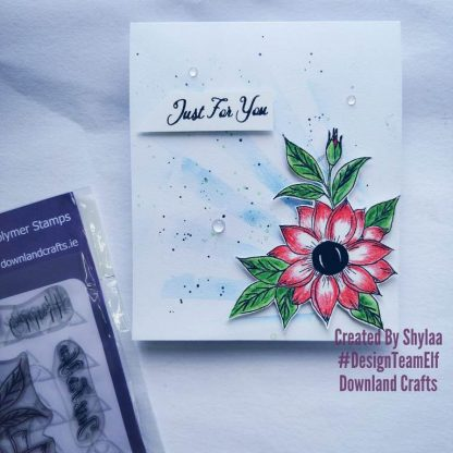 Just For You Stamp Set Card Sample