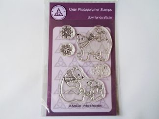 Polar Christmas A6 Clear Photopolymer Stamp Set