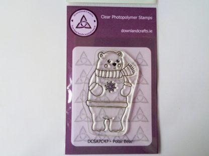 Polar Bear A7 Clear Photopolymer Stamp