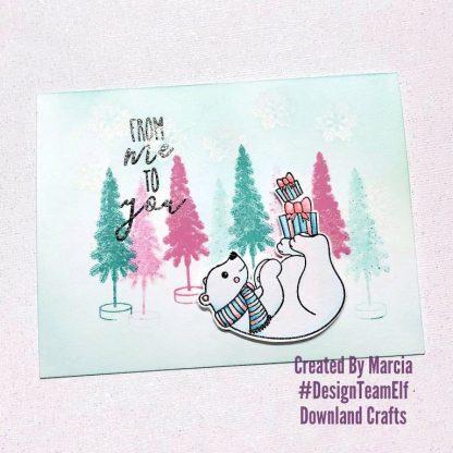 Polar Fun Stamp Set Card Sample