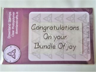Bundle Of Joy Stamp - A7 Clear Photopolymer