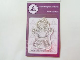 Gingerbread Girl Stamp A7 Clear Photopolymer