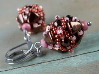 Volterra Earrings Friday Freebie Beading Pattern