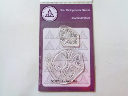 Angel Fish Stamp Set A7 Clear Photopolymer