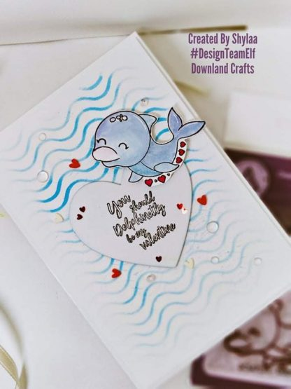 Dolphin Stamp Set Card Sample
